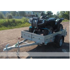 Прицеп бортовой для перевозки квадроцикла Кияшко 25РМ1101М
