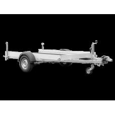 Прицеп для перевозки мотоцикла / квадроцикла Humbaur KFT 153117 Alu