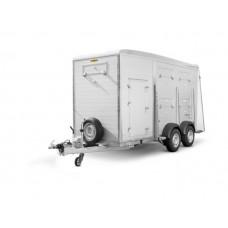 Двухосный прицеп для перевозки животных HTV 354018 SRA