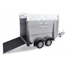 Прицеп для перевозки животных двухосный HTV 203217 AS